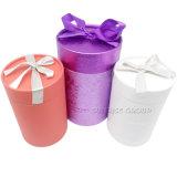 El cilindro personalizado impreso en papel ronda té puede EMBALAJE CAJA DE TUBOS