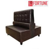 レストランまたは喫茶店または喫茶店(FOH-XM34-638)のための現代アメリカのレトロ様式ボタンの房状のソファー