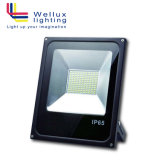 테니스 축구 농구를 위한 IP65 SMD 10W LED 플러드 전등 설비 정면 자물쇠 LED 투광램프