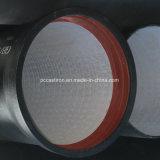 tubulação Ductile de 400mm, classe Ductile K9 da tubulação do ferro