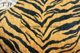 Tiger gedrucktes Microfiber Chenillegewebe (fth31892)