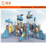 Guangzhou Taille personnalisée prix d'usine Kids Terrain de jeux extérieur