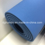 Eco Friendly High quality Green 100% TPE Closed Cell Yoga Mat