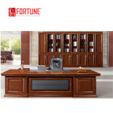 Mobilier de style ancien Executive en cuir haut de tables de bureau avec le côté le tableau