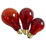 常夜燈の赤いハ虫類の球根A21 150W