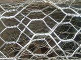 직류 전기를 통한 6각형 철망사 그물세공