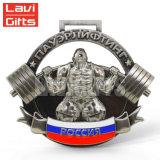 3D de metal personalizados Souvenir chapado Premio Medalla de la plaza para el Deporte