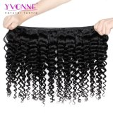 Yvonne 대중적인 인간적인 Virgin 브라질 머리 연장 깊은 파 자연적인 색깔