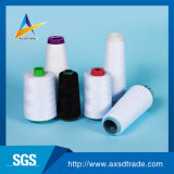 未加工白100%回されたポリエステル製造業者の産業縫う糸