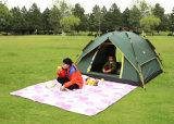 2-3人のテント、フルオートマチックのキャンプテント、余暇のテント