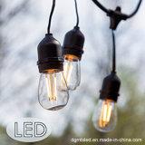 indicatore luminoso stellato della stringa del globo della stringa delle lampadine LED Dimmable del edison mini LED della lampada esterna