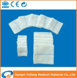 Esponjas producidas fábrica de la gasa de Jiangxi con la cuerda de rosca perceptible del rayo de X