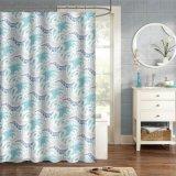 錆の自由にグロメットが付いている印刷された新しいデザインシャワー・カーテン