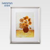 Murales de flores presionado para la decoración regalo