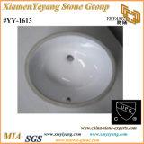 Cupc Undermount rectangulaire ou ovale de cuisine et salle de bains céramique/lavabos en porcelaine