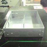 Caixa encaixada personalizada ferragem do metal