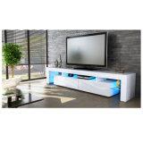 Glanz Fernsehapparat-Standplatz des Wohnzimmer-LED hoher