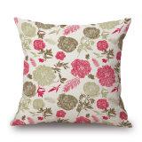 Flores de estilo rural Casa caso almofadas decorativas para sofá (35C0238)