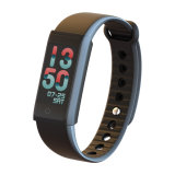Función elegante del ritmo cardíaco de la pulsera de Bluetooth del nuevo de OLED del color reloj elegante de la pantalla