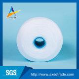 Linhas para costurar 100% poliéster 20S/2, Alta Qualidade Hubei Wuhan Fornecedor 50S/3 fios de poliésteres borra branca em bruto