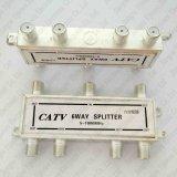 6 kabeltelevisie CATV van de Splitser van de manier Digitale 5-1000 Mhz