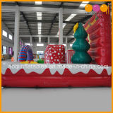 Paesaggio gonfiabile di natale del prodotto di natale con indicatore luminoso per la decorazione (AQ5791-1)