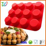 Ustensiles de cuisson en silicone Amzon Ensemble Tasse moule à muffin