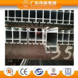 Popular da porta de alumínio de alta qualidade da Estrutura da secção da janela