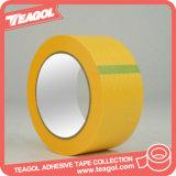 cinta adhesiva amarilla da alta temperatura del papel de Crepe de 20m m