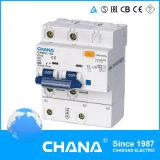 Camhl-100 tipo eletrônico DD (RCCB com proteção de sobrecorrente)