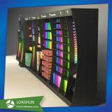 Écran d'armoires murales MDF à design moderne avec éclairage LED