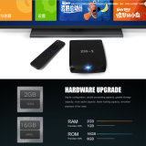 De Doos van TV van China 4K H. 265 2.4G 5g WiFi Ott