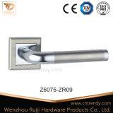 Стиль Zamak ручки двери установлен на площади Роз (Z6078-ZR17)