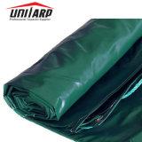 18oz 610gsm lona de PVC Rolo de tecido para 20FT tampa do recipiente