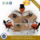 Bureau moderne L partition de bureau de poste de travail de forme (HX-8N3038)