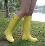 2019 Damas de la lluvia de goma de caucho mujer bota, Bota de lluvia, el Popular Señoras Botas de lluvia, resistente al agua de lluvia botas de goma nueva moda