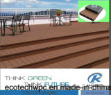 Fireproof Wood Plastic Composite Coextrusion Decking Skirting