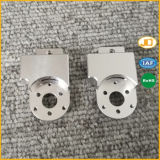 정밀도 CNC에 의하여 기계로 가공되는 알루미늄 부속