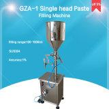 Pâte de piston et machine de remplissage verticales de liquide pour les produits de beauté (GZA-1)