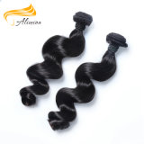 Da onda profunda indiana do cabelo do Virgin tecelagem do cabelo humano boa
