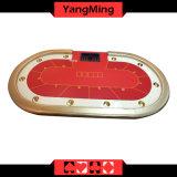 Spieler Ym-Tb021 ovale der Platte-Fuss-Standardfabrik-Kasino-Schürhaken-Tabelle-10