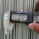 304/316 Edelstahl-Rohrleitung präzisieren