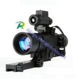 SuperGen1 Nachtsicht Riflescope für die Jagd mit IR-Belichtungseinheit u. Rot auf grünem Fadenkreuz-System