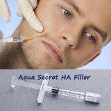 Cruz não animal enchimento facial lig de Derm da beleza do ácido hialurónico