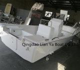 Bateaux de pêche profonds de fibre de verre de bateau de Panga de coque de Liya 19feet V