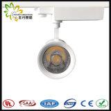 20W diodo emissor de luz popular Tracklight com luz bonita do ponto da trilha da ESPIGA do escudo 20W