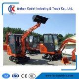 excavatrice de la chenille 1700kg avec le moteur diesel d'Imorted