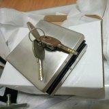 Нержавеющая сталь с латунью пользуется ключом стеклянный штуцер заплаты двери