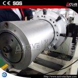 Linha dupla expulsando elevada da extrusão da tubulação do PVC do carrinho da velocidade da maquinaria plástica
