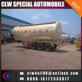 40-60cbm 3 depósito de pó de cimento do eixo semi reboque veículo